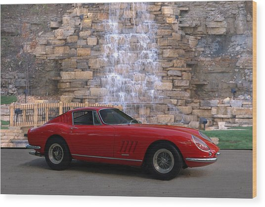 1967 Ferrari 275 Gtb Wood Print