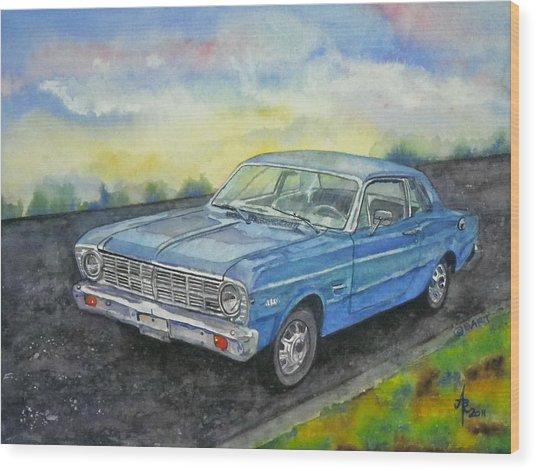 1967 Ford Falcon Futura Wood Print