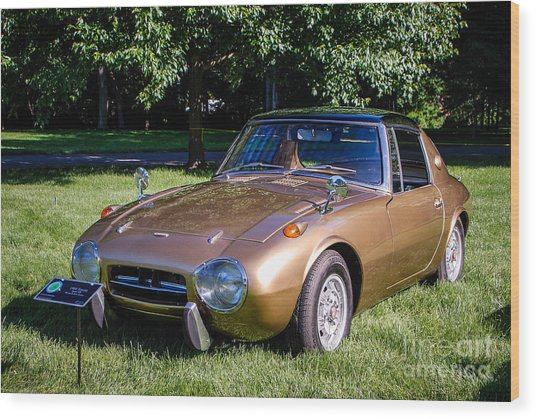 1968 Toyota Sports 800 Wood Print