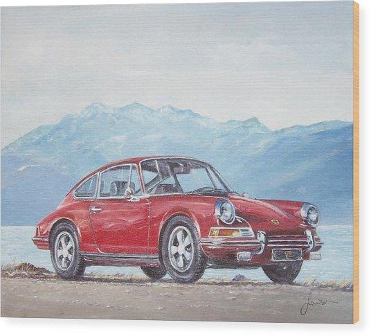 1969 Porsche 911 2.0 S Wood Print