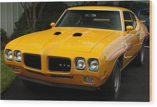 1970 Pontiac Gto. Wood Print
