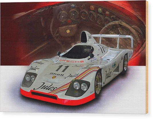 1981 Porsche 936/81 Spyder Wood Print