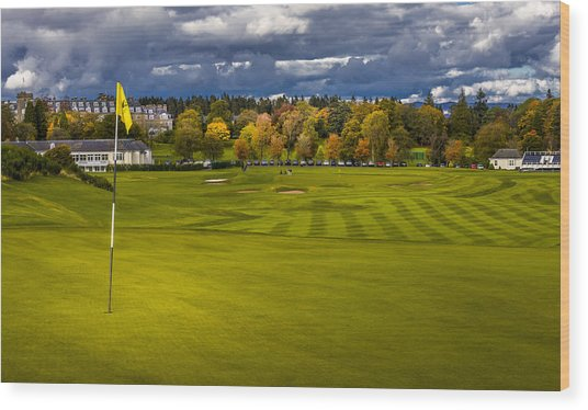 Prints For Sale Kings Golf Course Gleneagles Wood Print