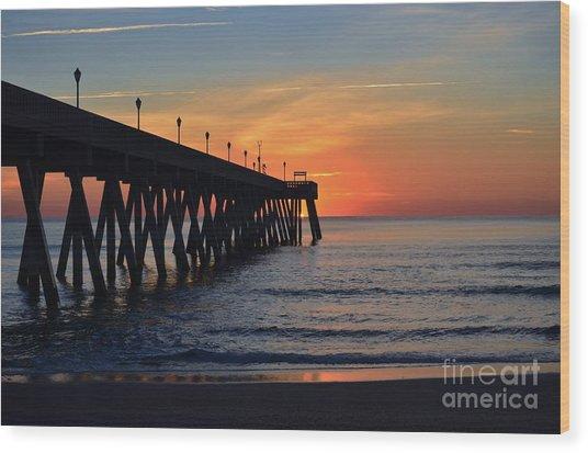1st Sunrise Of 2015 - 4 Wood Print