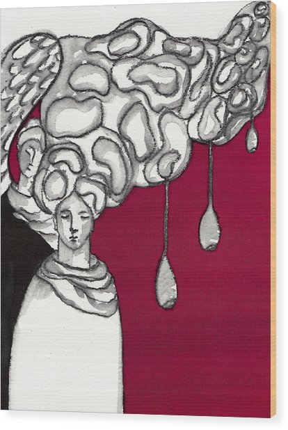 Keepers No 2 Wood Print by Milliande Demetriou