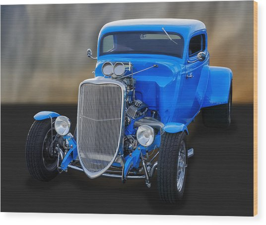 1933 Ford 3-window Coupe   Wood Print