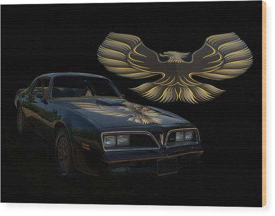 1978 Pontiac Trans Am  Wood Print