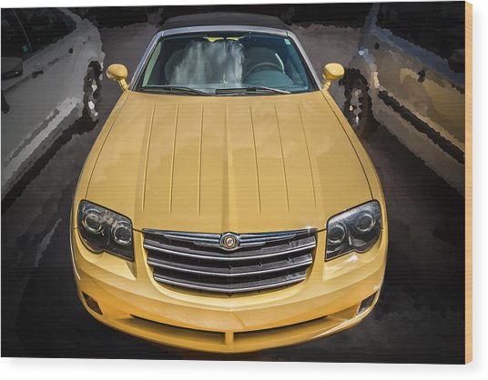 2008 Chrysler Crossfire Convertible  Wood Print