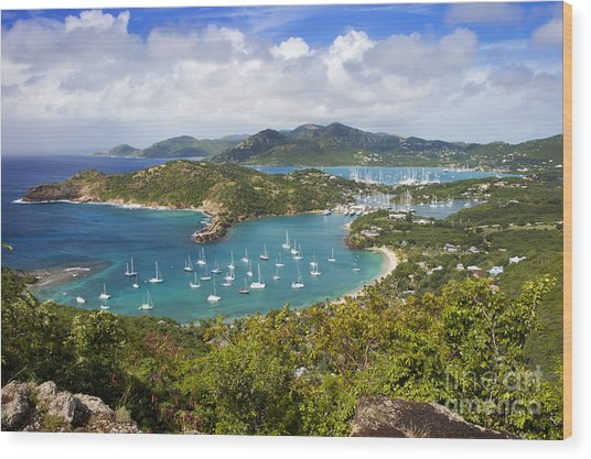 Antigua Wood Print