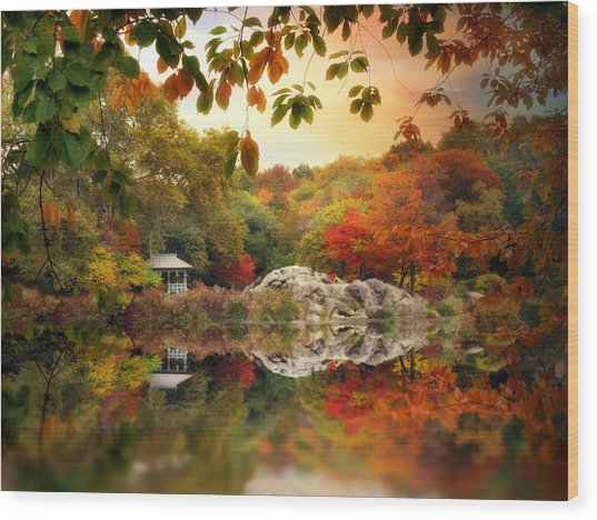 Autumn At Hernshead Wood Print