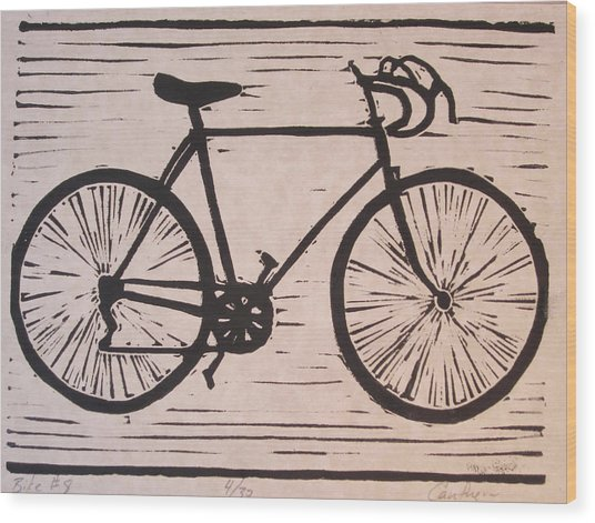 Bike 8 Wood Print by William Cauthern