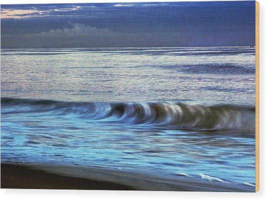 Breaking Wave Wood Print