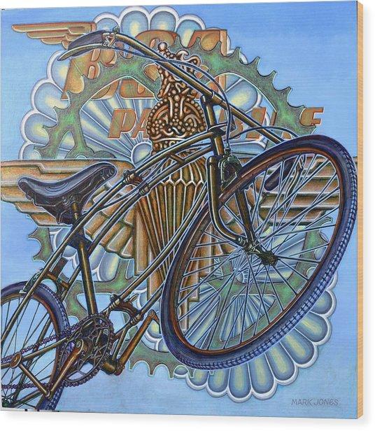 Bsa Parabike Wood Print
