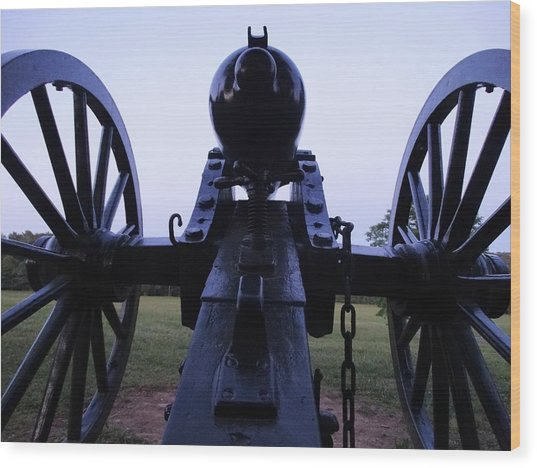 Cannon Wood Print by William Watts