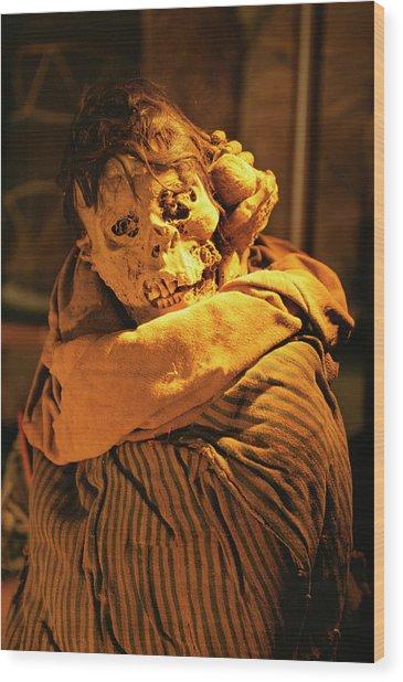 Chachapoyas Mummy Wood Print