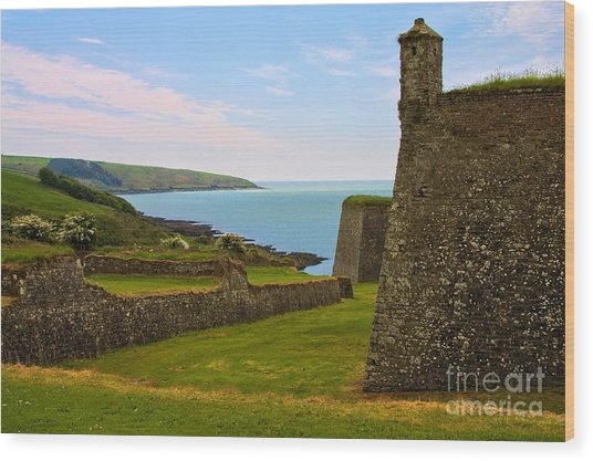 Wood Print featuring the photograph Charles Fort Kinsale by Jeremy Hayden