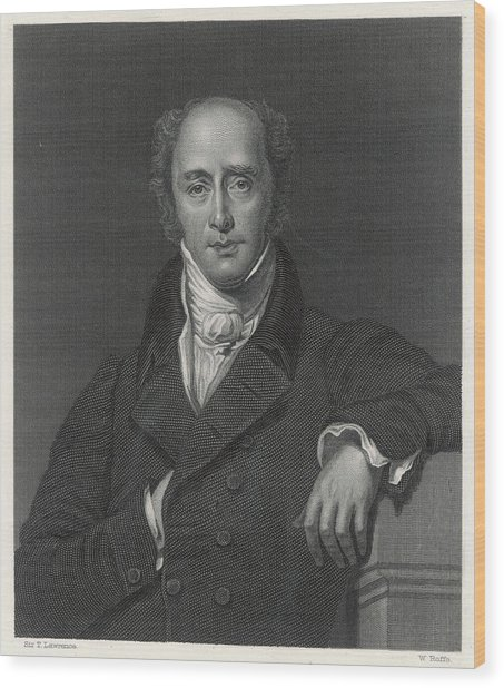 Charles Grey 2nd Earl  English Wood Print by Mary Evans Picture Library