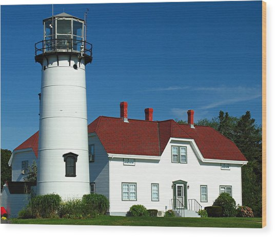 Chatham Lighthouse Wood Print