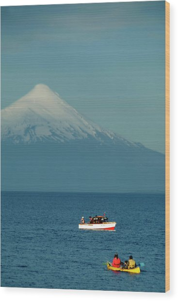 Chile, Puerto Varas Wood Print by Kymri Wilt