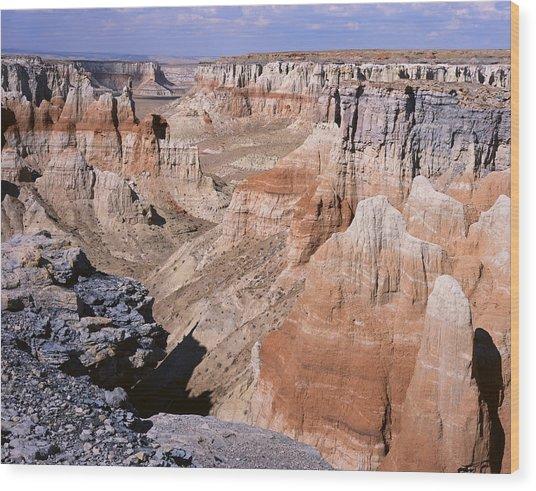 Coal Mine Canyon 1 Wood Print