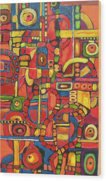 Coloroso # 7--sold Wood Print