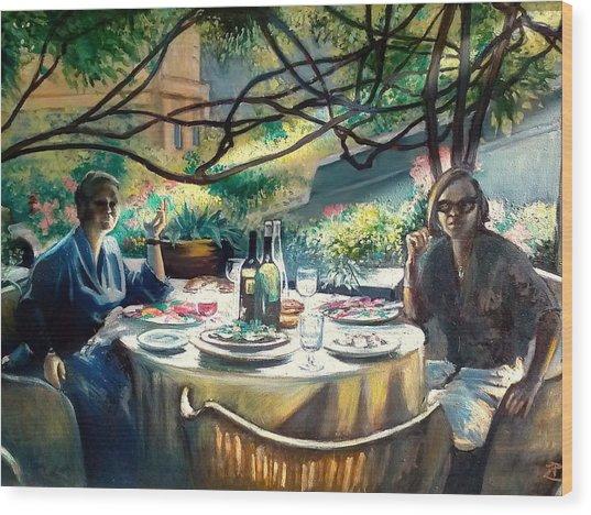 Croasdella And Geraldine Wood Print