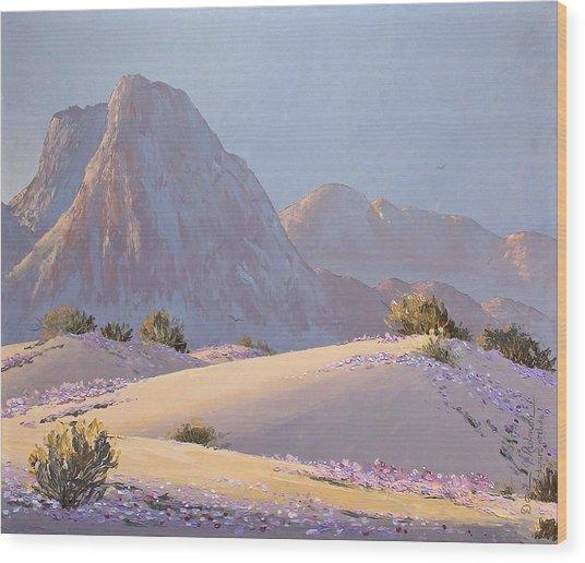 Desert Prelude Wood Print