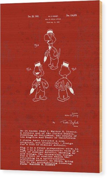 Disney Jose Carioca Wood Print