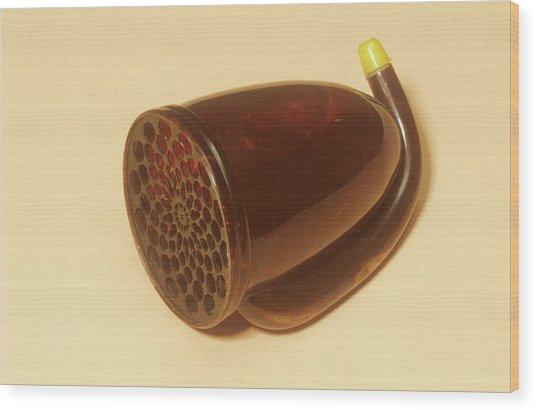 Ear Trumpet Wood Print