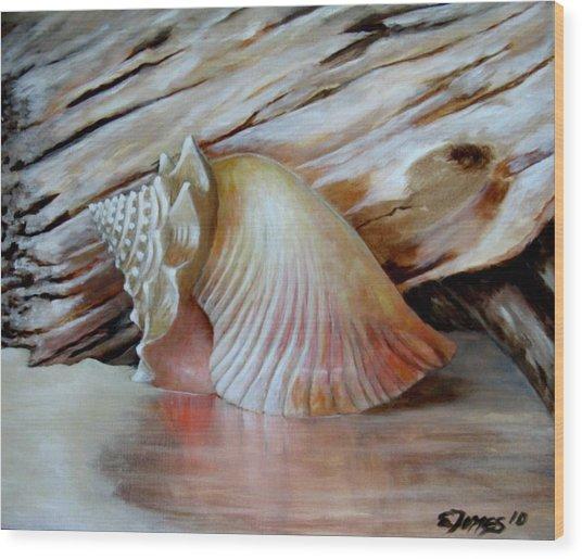Entre Mares Y Arenas Wood Print