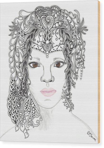 Fairy 2 Wood Print