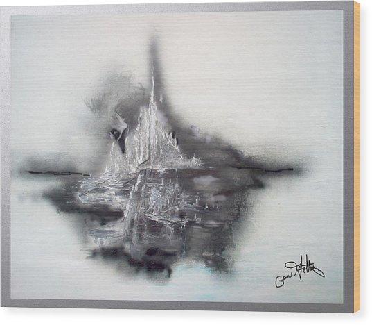 Floating Image Wood Print