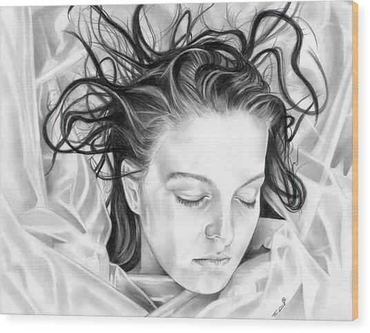 Forget Me Not - Laura Palmer - Twin Peaks Wood Print