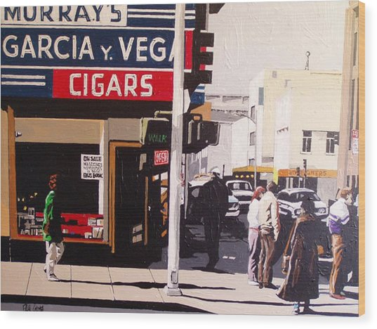 Garcia Y Vega Wood Print by Paul Guyer