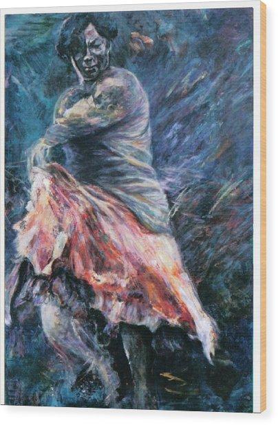 Gitana Wood Print
