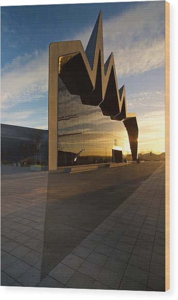 Glasgow Riverside Museum Wood Print