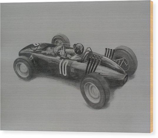 Graham Hill  Brm Wood Print