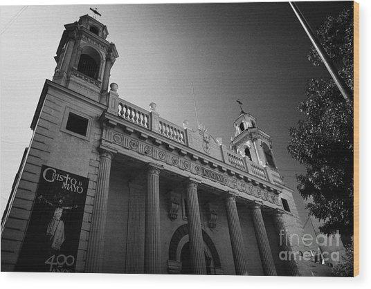 iglesia san agustin Santiago Chile Wood Print by Joe Fox
