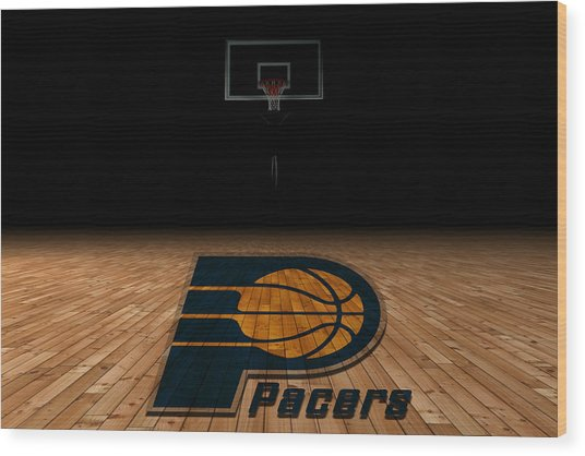 Indiana Pacers Wood Print