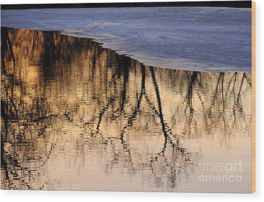 Isles Reflections Wood Print