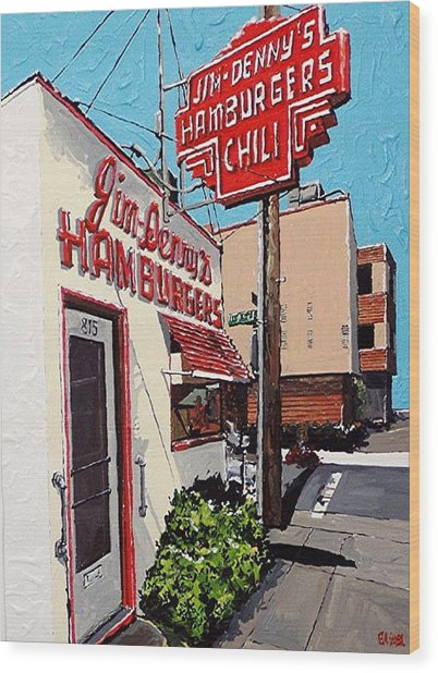 Jim Denny's Wood Print by Paul Guyer