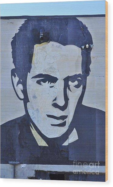 Joe Strummer Wood Print