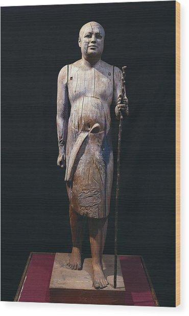 Ka-aper Lcalled Sheikh El-beled. Ca Wood Print by Everett