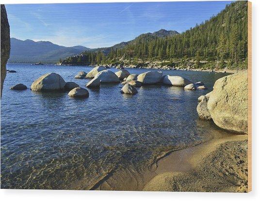 Lake Tahoe Beauty Wood Print