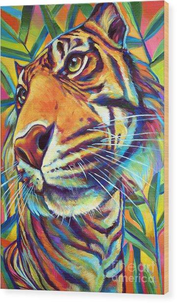 Le Tigre Wood Print