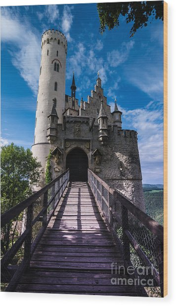Lichtenstein Castle - Baden-wurttemberg - Germany Wood Print