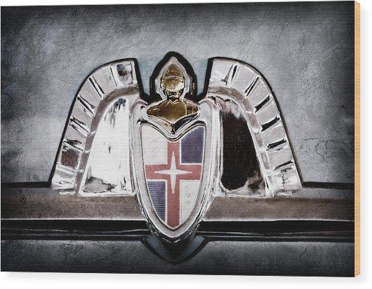 Lincoln Emblem Wood Print