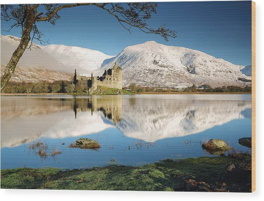 Loch Awe Wood Print