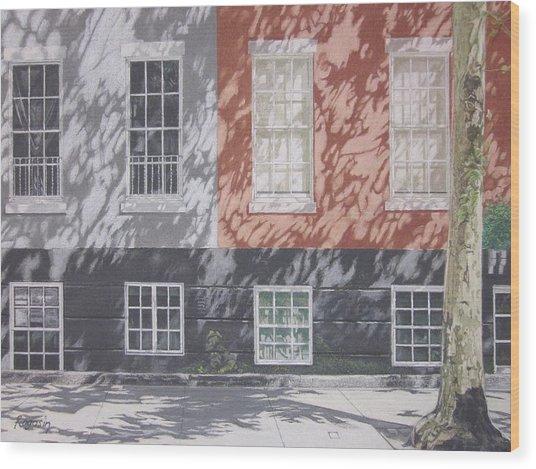 Macdougal Street Wood Print