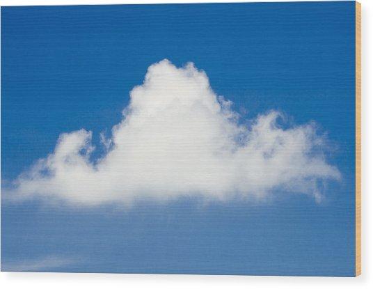 Marthas Vineyard Cloud Wood Print